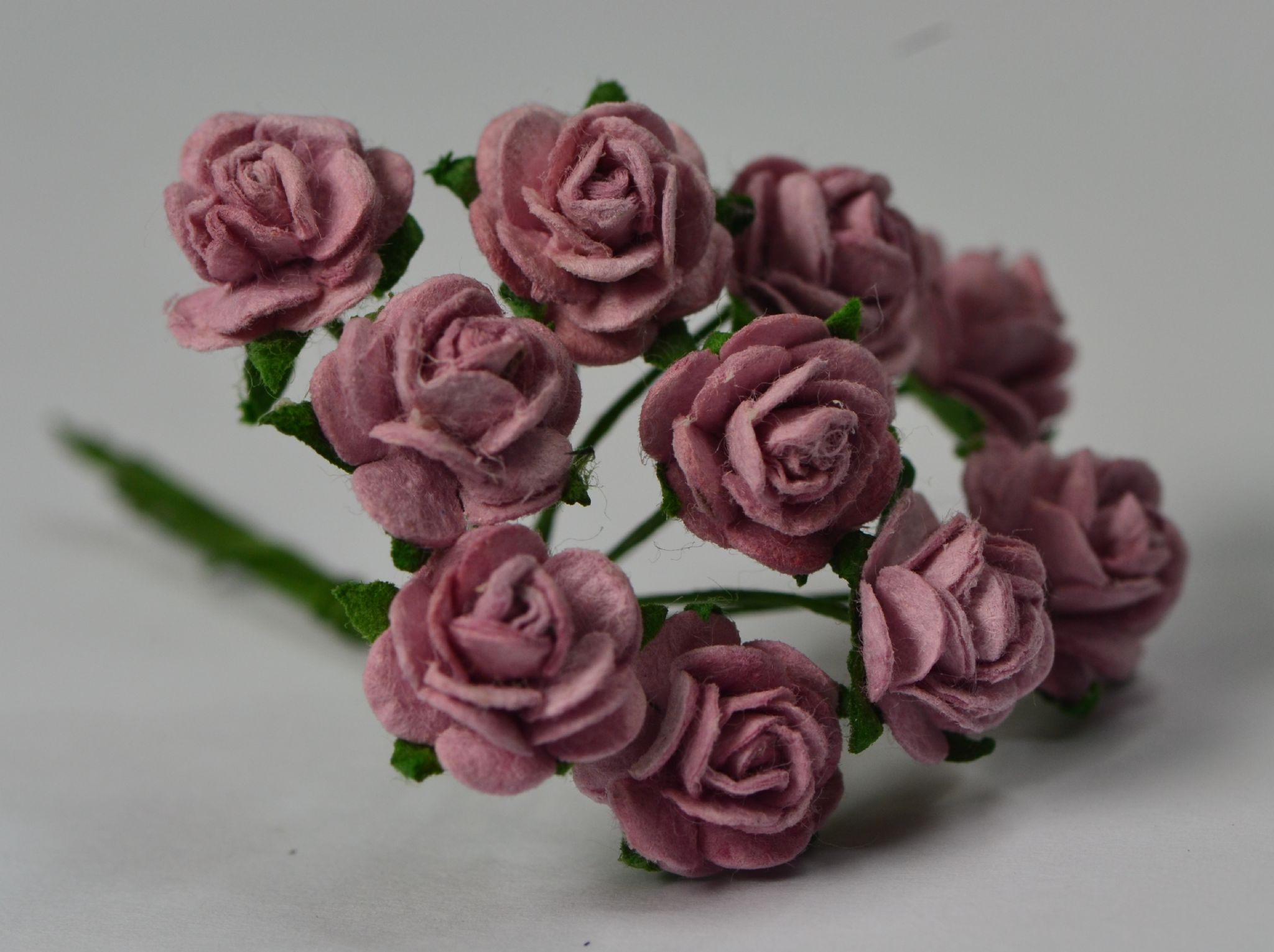 1 cm light dusty pink mulberry paper roses mightylinksfo